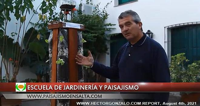 1025.06 Argentina Salta Ing Cabrera Kohl Escuela de Jardineria y Paisajismo Huerta vertical
