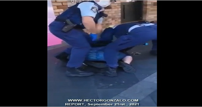 1086.01 Australia Bankstown Sydney You can't stop hearing their screams In Australia this is how the police serve and protect their citizens especially the vulnerable like the elderly, children and women
