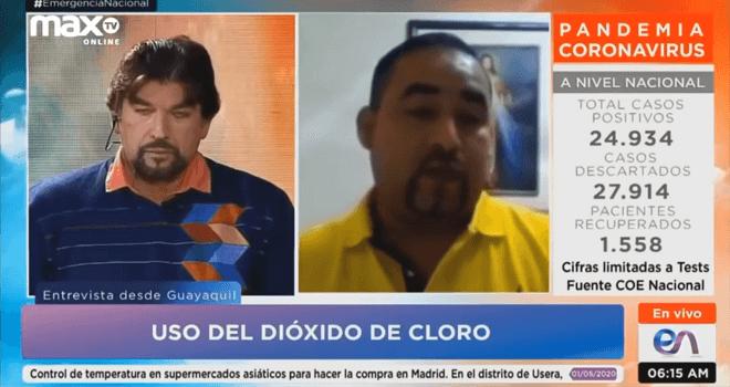 134.01 SPANISH Medico Ecuatoriano Felipe Muñoz Usa Dioxido de Cloro para curar a mas de 100 pacientes con COVID 19