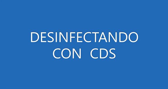 19 DESINFECTANDO CON CDS