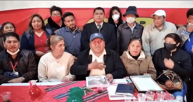 356.01 BOLIVIA CIUDAD DEL ALTO AL HERMANO ANDREAS KALCKER GRACIAS