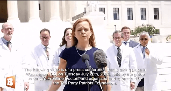 415.01 USA Silenced Frontline Doctors Hold Capitol Hill Press Conference to Challenge Big Tech