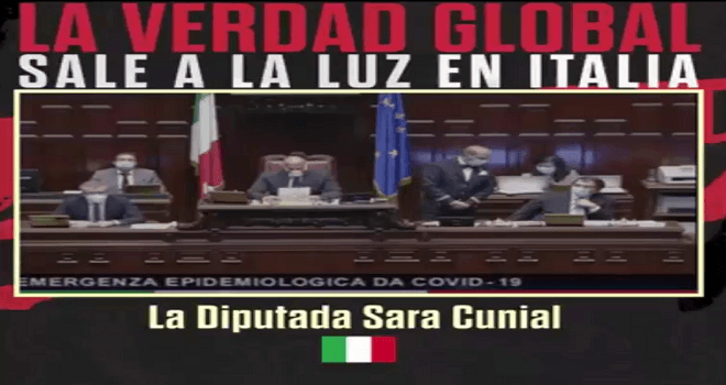 419.02 ITALY MP Sara Cunial Italian Parliament