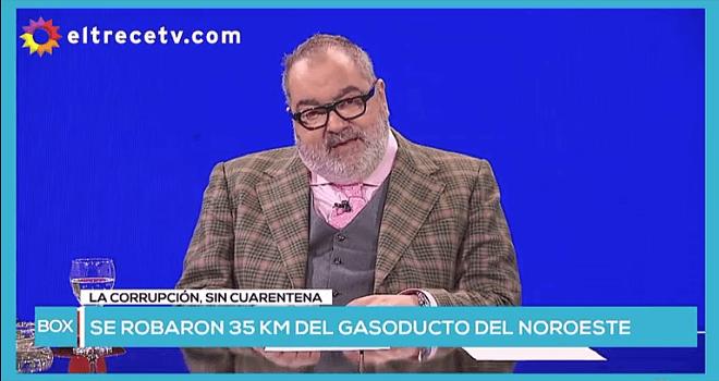 443.01 ARGENTINA EL TRECETV LA NATA ROBO DE METALES EN VIA PUBLICA ROBO DE 35 KM DE GASODUCTO