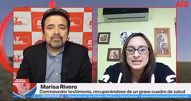 478.01 ARGENTINA CHACO MEDIOS Y ESTRATEGIAS DAVID GAUNA Marisa Rivero TESTIMONIO DISTROFIA MUSCULAR