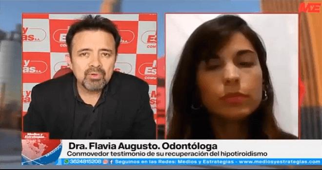 500.01 ARGENTINA CHACO MEDIOS Y ESTRATEGIAS DAVID GAUNA DRA FLAVIA AUGUSTO HIPOTIROIDISMO
