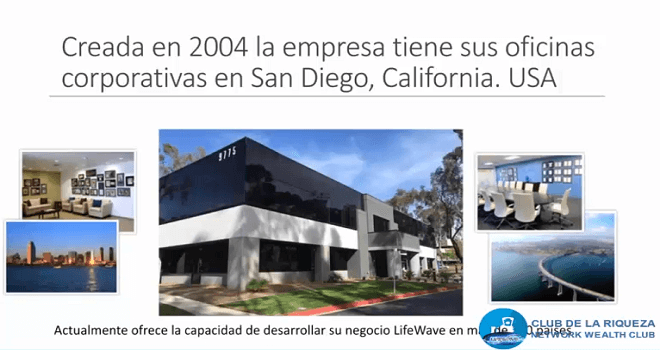 735.01 UNITED STATES OF AMERICA Lifewave and its products Presented by Club De La Riqueza with its operations center in the USA