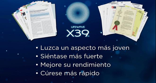 735.07 ESTADOS UNIDOS DE AMERICA Lifewave X39 Product Presentado por Club De La Riqueza con su centro de operaciones en USA