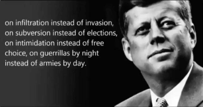 741.01 USA President Trump retwitted JFK memorable audio
