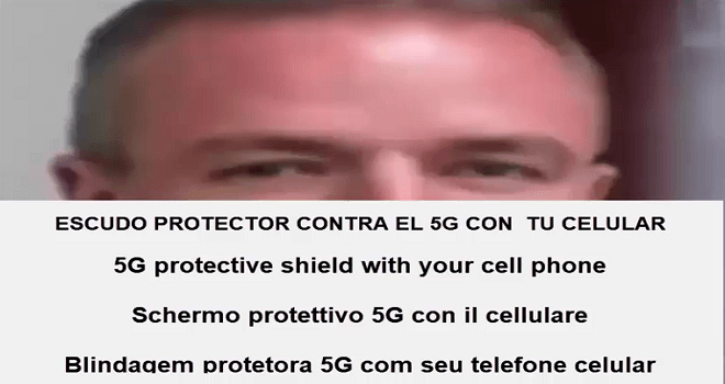 790.01 CHILE VANGUARD JOSE VILLAGRA COLLOIDAL SHIELD PORTABLE RADIATION PROTECTION 5G