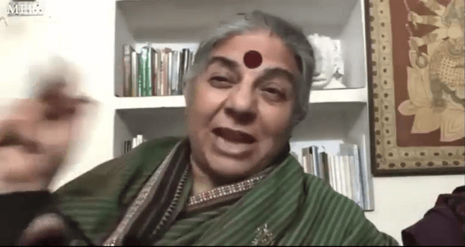 918.02 Vandana Shiva Ph D discusses the importance and benefits of regenerative agriculture and a future Regeneration International project that we ll be collaborating on